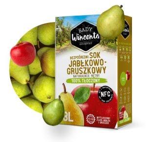 Sok jabłkowo - gruszkowy